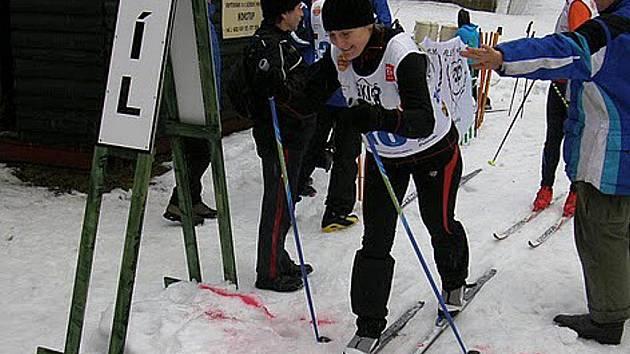Tradičního závodu v běhu na lyžích na Polevsku se loni zúčastnilo necelých 40 závodníků.