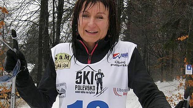 Necelých 40 závodníků se zúčastnilo tradičního závodu v běhu na lyžích na Polevsku.