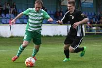Divize B: FC Nový Bor - SK Úvaly 1:0 (0:0).