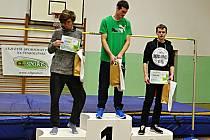 Výškaři z Českolipska se ve cvikovské sokolovně loučili s atletickým rokem 2015.