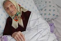 Marie Kchalupnik z České Lípy oslavila 102. narozeniny.