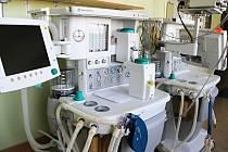 Nový narkotizační přístroj pro vedené anestézie dětských i dospělých pacientů.
