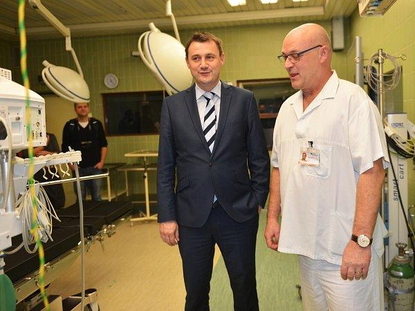 Nové přístroje pro anesteziology inové operační stoly pořídila českolipská nemocnice za více než 10milionů korun zevropské dotace.