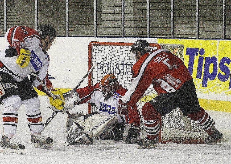 Odveta ve Strakonicích dopadla lépe pro českolipské hokejisty.