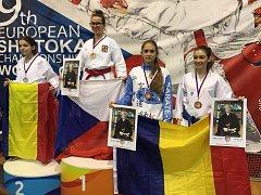 Karate klub Sport Relax Česká Lípa se pyšní čerstvým ziskem medailí z ME a SP.