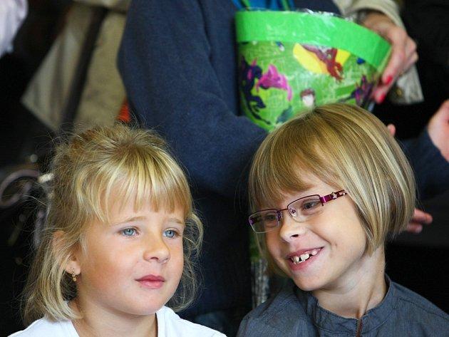 Zahájení letošního školního roku v Kravařích.