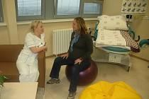 Rodičovský pokoj se nachází v osmém patře budovy nemocnice, v rámci gynekologicko porodnického oddělení. Vybavený je vhodným nábytkem: sedací soupravou, porodním polohovatelným lůžkem, vakem, míčem i dalšími pomůckami.