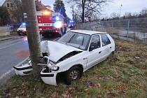 Dopravní nehoda v Horní Polici.