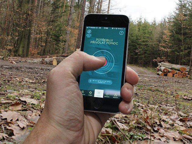 Aplikace  Záchranka přijde vhod ve chvílích, kdy sami pořádně nevíte, kde jste.