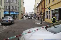 Policisté dnes odpoledne evakuovali několik budov v centru České Lípy.