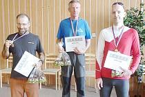 Vítězové Jarního běhu Sosnovou.