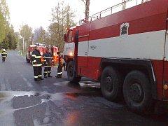 Sbor dobrovolných hasičů ze Stráže pod Ralskem v akci.