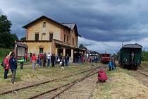 Centrem oslav bude nádraží v Kamenickém Šenově.