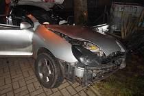 Pondělní tragická nehoda na Práchni.