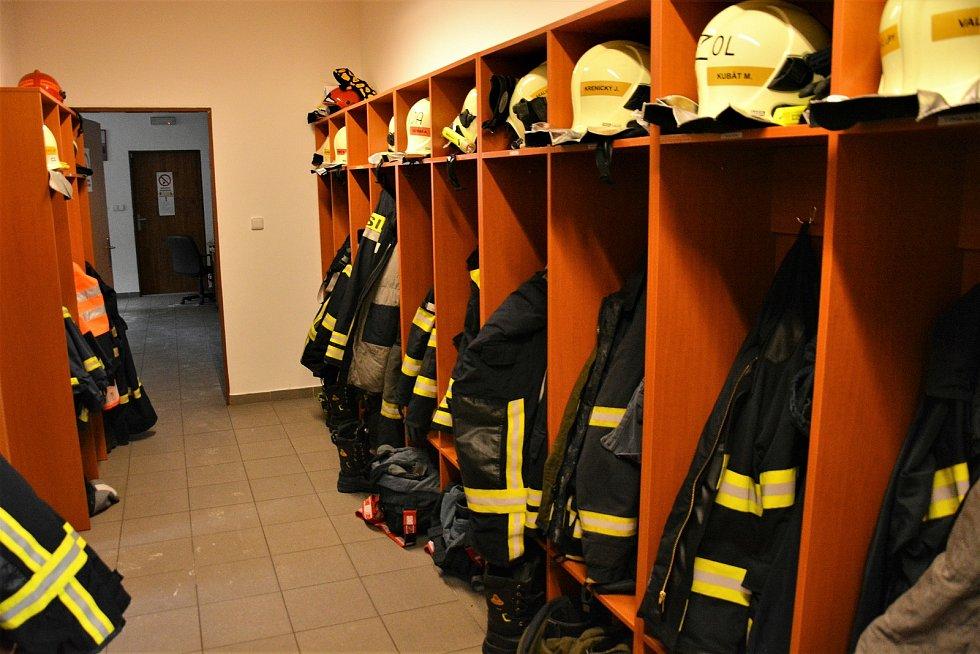 Jednotka dobrovolných hasičů ve Skalici.