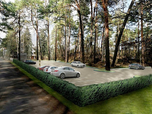 Na místě současného minigolfu by mohlo vyrůst parkoviště pro návštěvníky pláže ve Starých Splavech.