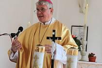 Biskup Václav Malý.