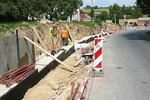Bezpečnější cesty obcí se už brzy dočkají obyvatelé Brniště i Velkého Grunova.