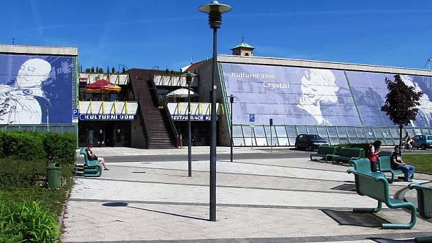 Kulturní dům Crystal v České Lípě.