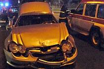 Oba účastníci nehody měli podle svých výpovědí na semaforech zelenou.