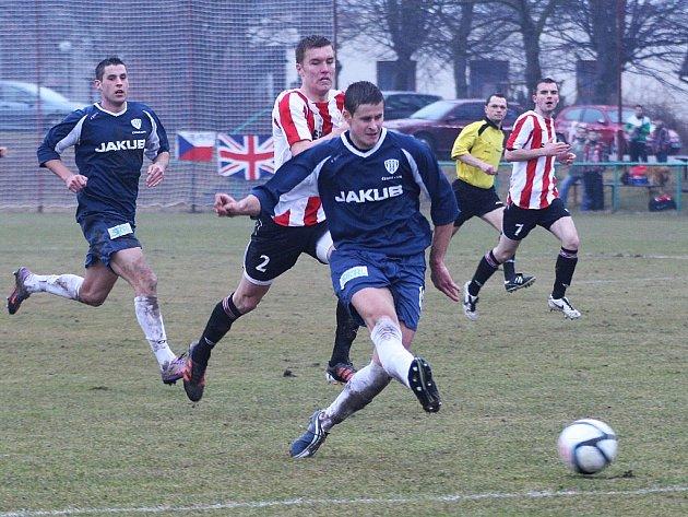 Českolipský Arsenal vstoupil do jarní části ČFL cennou výhrou nad Hlavicí.