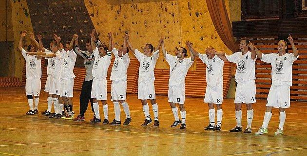 Hráči FC Démoni Česká Lípa.