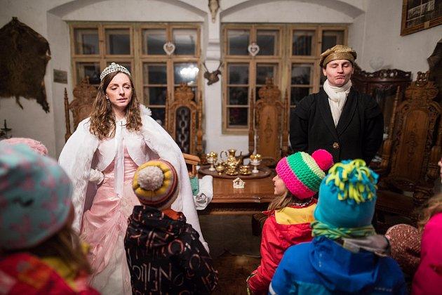 Vánoce na zámku vHorní Libchavě.