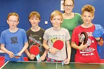 Turnaje se zúčastnilo přes sto žáků a žákyň 2. stupně.