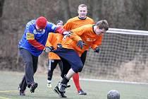 Fotbalový turnaj Vánoční kapr v Mimoni.