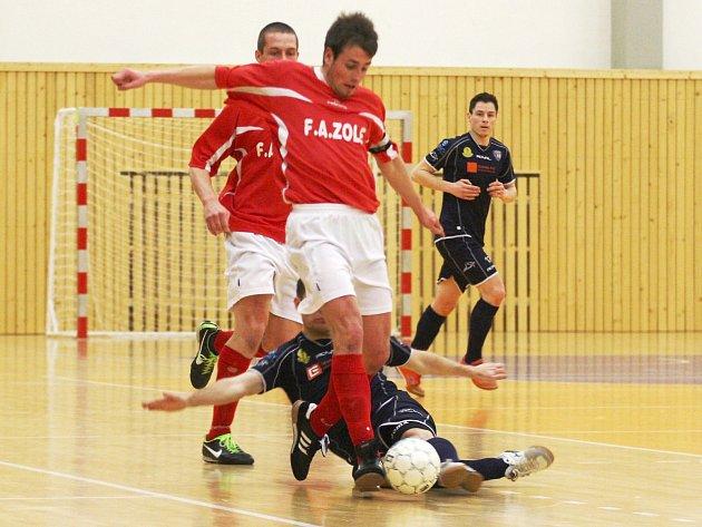 Vojtěch Brož vede tabulku střelců druhé ligy futsalu.