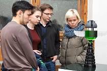 V Severočeském muzeu v Liberci začala výstava žáku Střední uměleckoprůmyslové školy sklářské v Kamenickém Šenově.