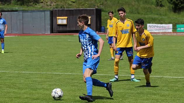 Sport fotbal divize dorostu U 19 FK Varnsdorf - Česká Lípa