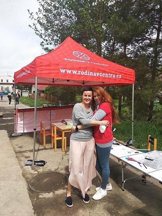 Nový Dům rodiny v Novém Boru. Den otevřených dveří se konal v sobotu 15. května