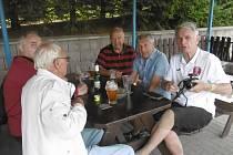 Ve Vilémově proběhlo tradiční setkání bývalých funkcionářů.