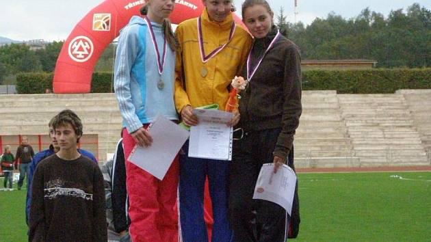 Novoborské chodkyně byly na mistrovství úspěšné.