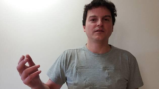 Vladimír Vrabec z kapely Drom je jedním z hlavním organizátorů.