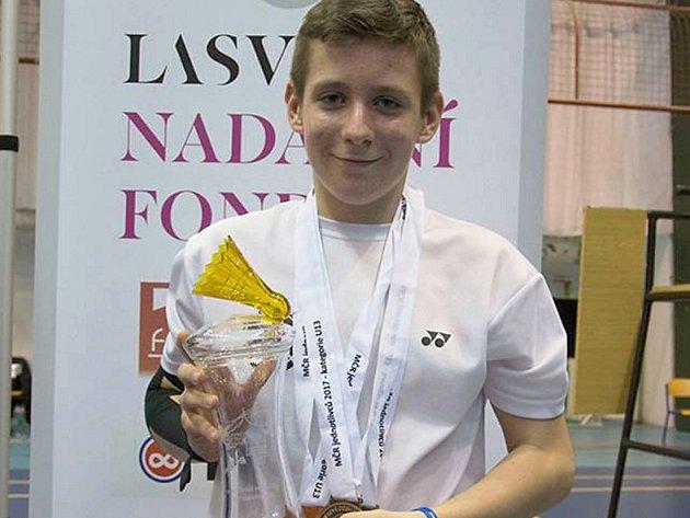 Jan Rázl z Nového Boru má titul a dva bronzy.