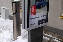 Rychlonabíjecí stanice pro elektromobily v českolipské Dubici.