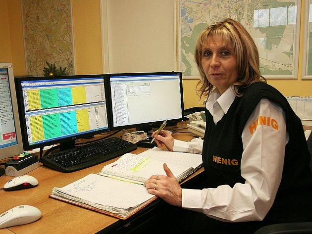 Ivana Bitmannová pracuje u bezpečnostní agentury.