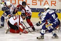 Predátoři zvítězili na ledě Jablonce a postoupili do čtvrtfinále.