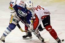 Zápas českolipských hokejistů s týmem Jablonce skončil předčasně.