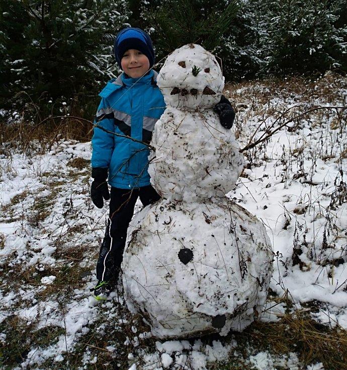 Zima v Mimoni.