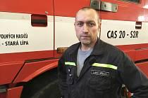 Luboš Břenda, velitek Sboru dobrovolných hasičů Stará Lípa.