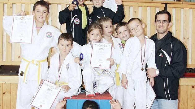 Judisté z TJ Lokomotiva Česká Lípa se zúčastnili Vánočního turnaje v Chomutově.