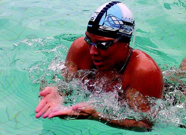 Plavkyně Petra Chocová