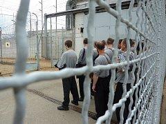 Ve věznici ve Stráži pod Ralskem si v současné době odpykává trest 869 odsouzených. Téměř čtyři stovky z nich chodí pravidelně do práce nebo pracují přímo v areálu věznice.