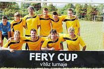 Vítězem premiérového ročníku fotbalového turnaje Fery Cup se stal Fery Team z Jablonného.