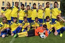 Mladí fotbalisté FK Cvikov (ročník narození 2004, 2005 a mladší) se stali vítězi okresní soutěže mladších žáků sezony 2016/17.