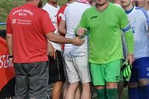 Martin Kotyk (zelený dres).