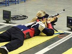 Karolína Brabcová ve finále.